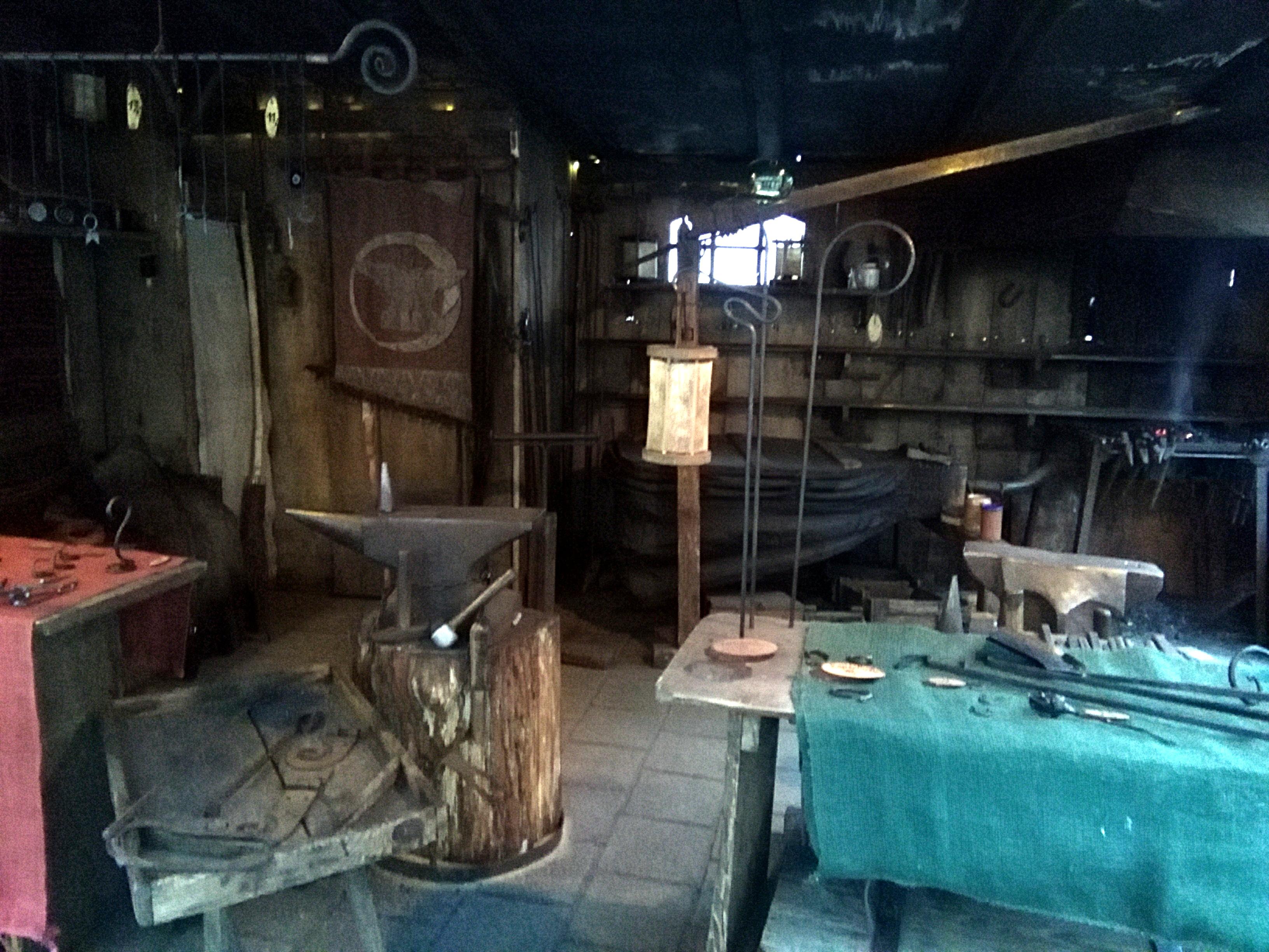 145327-alte-schmiede-mittelalterlicher-markt